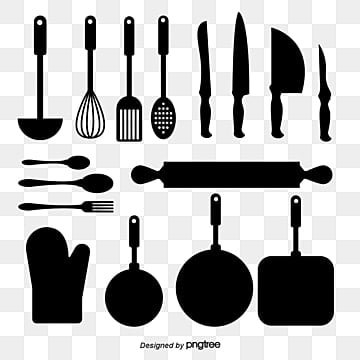Kitchen Utensils Png Images Vector And Psd Files Free Download