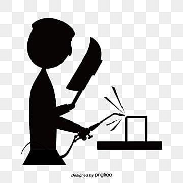синий вектор сварщиков, вектор, электрическая сварка, работников PNG ресурс рисунок и векторное изображение