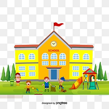 School Clipart Download Free Transparent Png Format Clipart Images On Pngtree