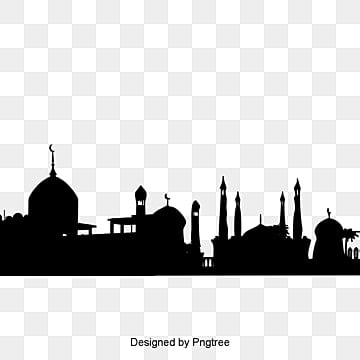 Mosque Silhouette PNG Images | Vector and PSD Files | Free Download