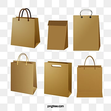 Paper Bag Png Vector Psd And Clipart With Transparent