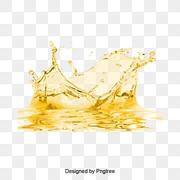 زيت زهرة المواد, أصفر, علامات مائية, زهرة النفطPNG صورة