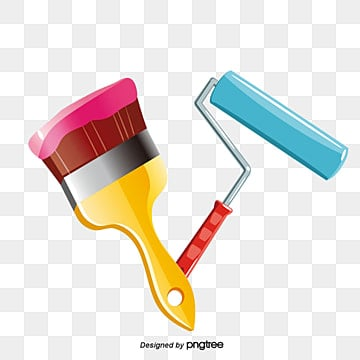 Roller Brush PNG Images | Vector and PSD Files | Free