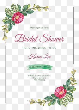 Vector wedding invitation card, Flowers, Frame, Wedding Invitation Card PNG and Vector