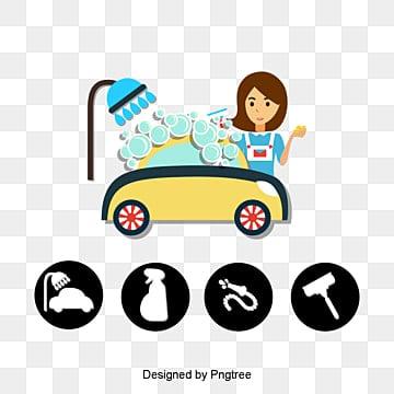 غسيل السيارات خدمات العناية بالجمال, شطف, غسيل السيارات, صناعة الخدمات PNG و PSD