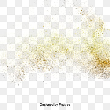 Golden dust explosion material, Golden Yellow Powder, Dust Explosion, Powder Splash PNG Image
