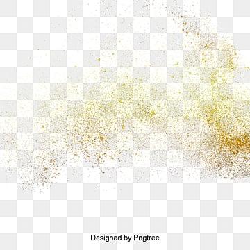 золотой взрыв пыли материал, золотой порошок, взрыв пыли, порошок брызгиИзображение PNG
