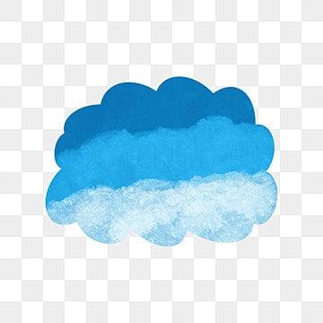 Acuarela Azul nubes vector, Cloud, Azul, Acuarela PNG y Vector