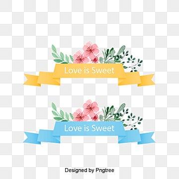 Etiqueta de Flores de Primavera, Na Primavera, A Primavera, FloresPNG e Vector