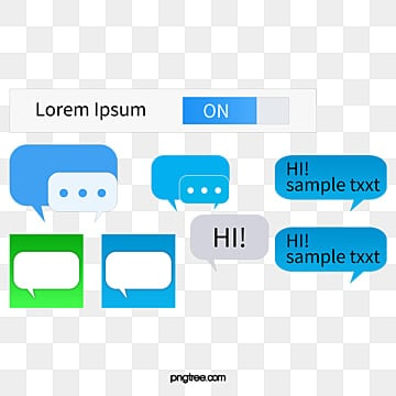 Sms Interface Vector IPhone IMessage PNG And