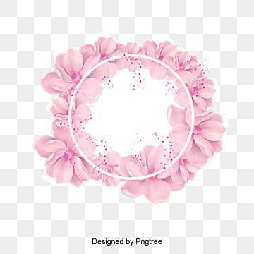 Wreath png vectors psd and clipart for free download pngtree vector cherry decoration flowers wreath pink png and vector mightylinksfo
