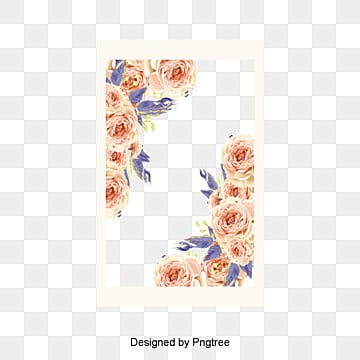 Beautiful Little Fresh Border Vector Material Flower Borders Small
