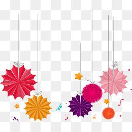 Creative graphics decorative ribbons