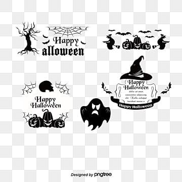 Vetor de Elementos de Halloween, Gráfico De Vetor, O Dia Das Bruxas, Halloween Dia Das BruxasPNG e Vector