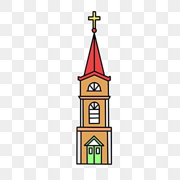Painted St. Vasily Cathedral vector material