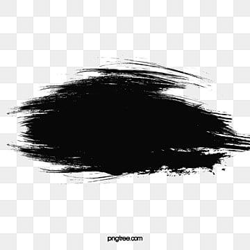 кисть с черными чернилами, Векторный материал, Чернила кисть, чернила PNG и PSD