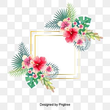 Hand painted watercolor summer floral background, Summer Promotion, Summer Promotion, Background PNG and Vector