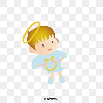 Angel transparent background. Little png vector psd