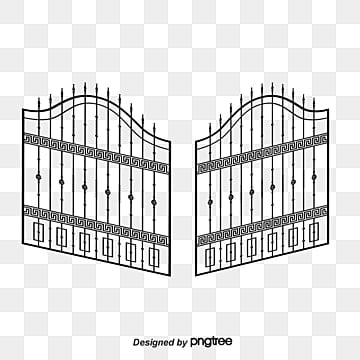 Iron Gate Png Vector Psd And Clipart With Transparent