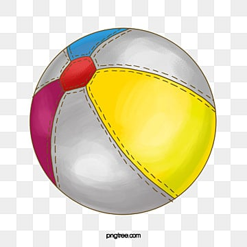Colorful Beach Ball Decorative Pattern PNG Image And Clipart