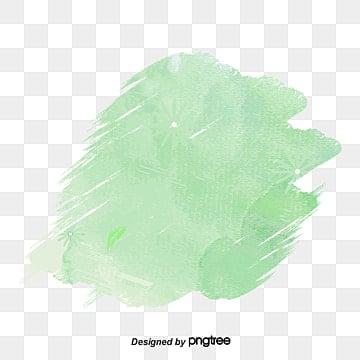 зеленая акварель граффити кисть эффект, вектор Png, Щетка, зеленый PNG и PSD
