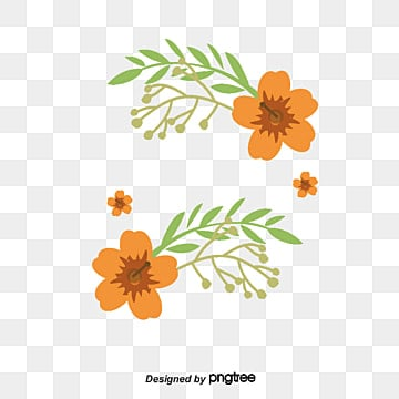 Orange Flower Png, Vectors, PSD, and Clipart for Free ...
