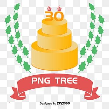 30 ans png vecteurs psd et ic nes pour t l chargement gratuit pngtree - Image gateau anniversaire 30 ans ...