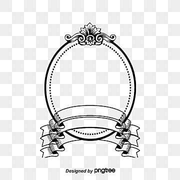 Oval Border Png Vectors Psd And Clipart For Free