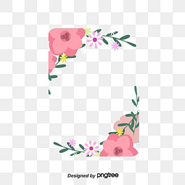 Greeting card border png images vectors and psd files free hand painted floral card border hand painted flowers greeting card mothers day png m4hsunfo