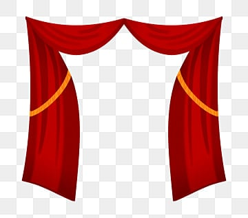 Red Curtain Png Vectors PSD And Clipart For Free