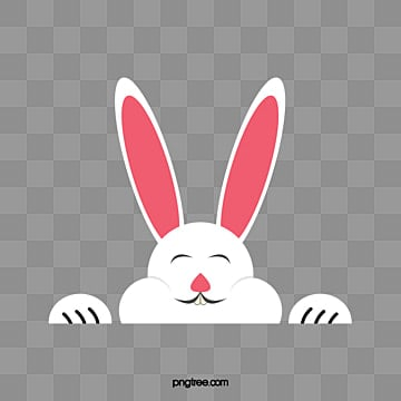 easter bunny, Little White Rabbit, Easter Bunny, Small Animal PNG and Vector