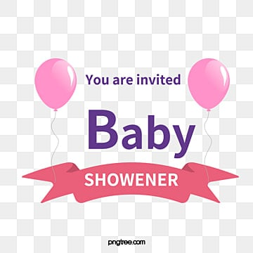 Baby Shower Vector Clipart Hand Pink PNG And