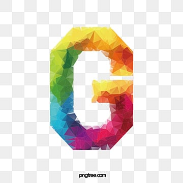 Colorful Letters G Letter PNG Image And Clipart