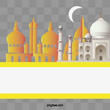 творческие мечети мусульмане здания плакат фон, мечеть, ночь, ночное небоPNG и вектор