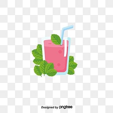 Water glass juice