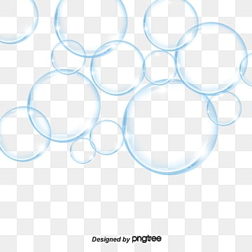 Bubble clear. Transparent png vector psd