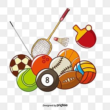 sports equipment vector, Hand, Trophy, Baseball Bat PNG and Vector