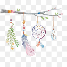 The branches of the beautiful ornaments