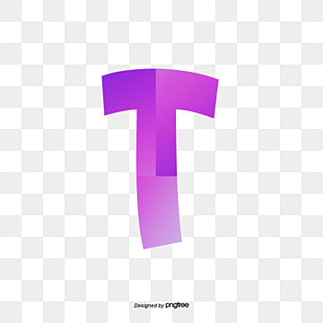 The Red Letter T Gules Letters PNG And Vector