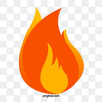 Cartoon Flame PNG Images | Vector and PSD Files | Free