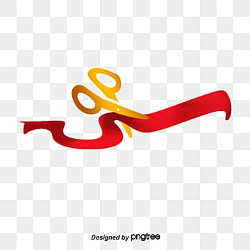 Ribbon Cutting Png Vector Psd And Clipart With