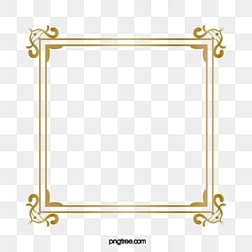 Borda Dourada Png Vetores Psd E Clipart Para Download