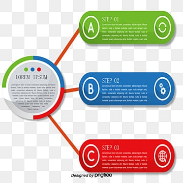 color ppt flow chart, Vector Png, Ppt Chart, Flow Chart PNG and Vector