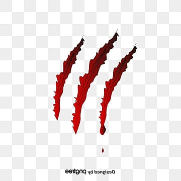 Abstract claw mark, Werewolf Kill, Werewolf Scratches, Abstract PNG and PSD