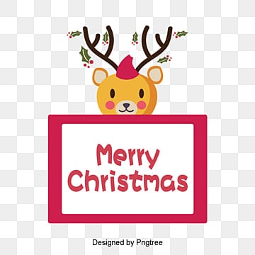 Cartoon christmas elk card, Christmas, Christmas Card, Elk PNG and PSD