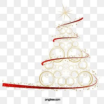 La créativité de l'or de l'arbre de Noël, Créatif, Abstraction, OrPNG et vecteur