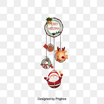 Christmas decorations, Christmas, Christmas Label, Ribbon Decoration PNG and PSD