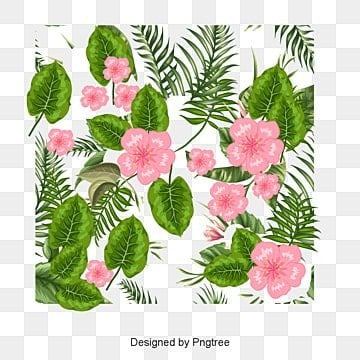 Hand-painted colorful flowers, Hand, Leaf, Petal PNG and Vector