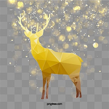 Vector christmas decoration elk, Vector Elk, Christmas, Light PNG and Vector