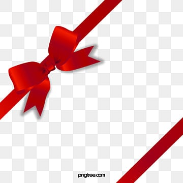 Corbata de lazo rojo, Objeto Material, Saten Rojo, Cinta De Seda PNG Image and Clipart